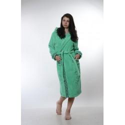 Халат за баня от висококачествен памук - ЗЕЛЕН от StyleZone