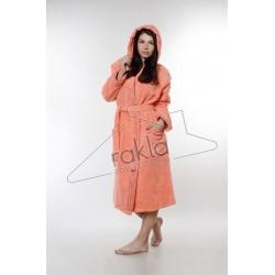 Халат за баня от висококачествен памук - КОРАЛ от StyleZone