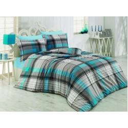 Българско спално бельо от 100% памук - АКВАМАРИН от StyleZone