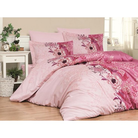 Луксозно спално бельо от сатениран памук-  PERA SOMON от StyleZone