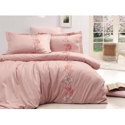 Луксозно спално бельо от сатениран памук-  ARTEMIS PUDRA от StyleZone