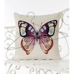 Испанска декоративна възглавница с цип - АРТ ПЕПЕРУДА от StyleZone