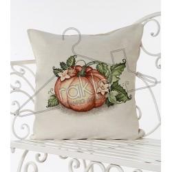 Испанска декоративна калъфка за възглавница с цип - ТИКВА от StyleZone
