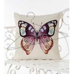 Испанска декоративна калъфка за възглавница с цип - АРТ ПЕПЕРУДА от StyleZone