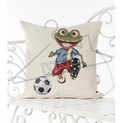 Испанска декоративна калъфка за възглавница с цип - ФУТБОЛИСТ от StyleZone