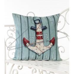 Испанска декоративна калъфка за възглавница с цип - КОТВА от StyleZone