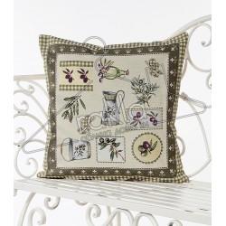 Испанска декоративна калъфка за възглавница с цип - ОЛИВ от StyleZone