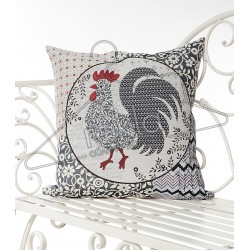 Испанска декоративна калъфка за възглавница с цип - ПЕТЛЬО от StyleZone
