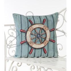 Испанска декоративна калъфка за възглавница с цип - РУЛ СИНЬО от StyleZone