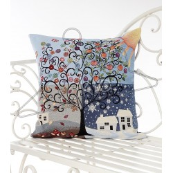 Испанска декоративна калъфка за възглавница с цип - СЕЗОНИ от StyleZone