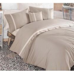 Двуцветно спално бельо от 100% памук ранфорс - Nirvana V1 от StyleZone