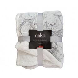 Пухкаво декоративно одеяло - СВЕТЛО СИВО от StyleZone