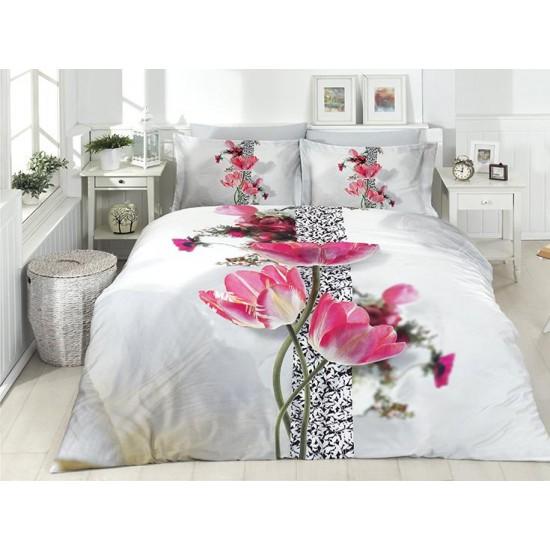 3D Спално Бельо Памучен Сатен - BRENDA от StyleZone
