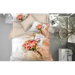 3D Спално Бельо Памучен Сатен - NINA от StyleZone