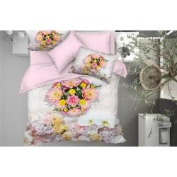 3D Спално Бельо Памучен Сатен - VIVIANA от StyleZone