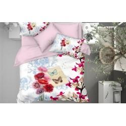 3D Спално Бельо Памучен Сатен - STELA от StyleZone