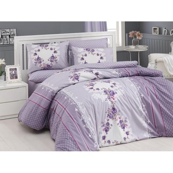 Лимитирана колекция спално бельо от 100% памук - DELFINA MURDUM + KING от StyleZone