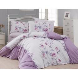 Лимитирана колекция спално бельо от 100% памук - KAREN LEYLAK от StyleZone