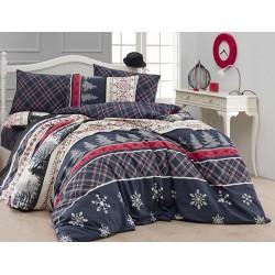 Лимитирана колекция спално бельо от 100% памук - SNOWFALL от StyleZone