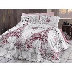 Лимитирана колекция спално бельо от 100% памук - ROMANTİCA PUDRA от StyleZone