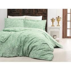 Луксозно спално бельо от 100% сатениран памук - SWETA YESIL от StyleZone
