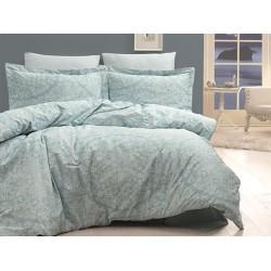 Луксозно спално бельо от 100% сатениран памук - VANESSA MINT от StyleZone