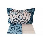 Луксозно спално бельо от 100% сатениран памук - LAURA LACIVERT от StyleZone