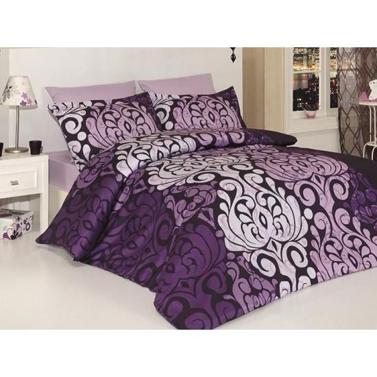 Луксозно спално бельо от 100% сатениран памук - LAURA MOR от StyleZone