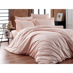 Луксозно спално бельо от 100% памучен сатен - жакард - LOTUS SOMON от StyleZone
