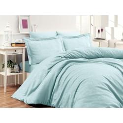 Луксозно спално бельо от 100% памучен сатен - жакард - SARE MINT от StyleZone