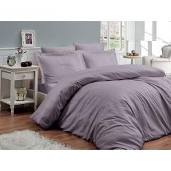 Луксозно спално бельо от 100% памучен сатен - жакард - ATHENA LEYLAK от StyleZone