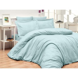 Луксозно спално бельо от 100% памучен сатен - жакард - TIAMO MINT от StyleZone