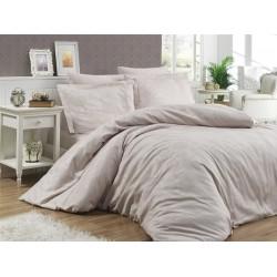 Луксозно спално бельо от 100% памучен сатен - жакард - HERRA ŞAMPANYA от StyleZone