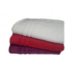 Едноцветна хавлиена кърпа МИКРОПАМУК - БЯЛА от StyleZone