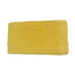 Едноцветна хавлиена кърпа МИКРОПАМУК - ЖЪЛТА от StyleZone