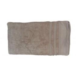 Едноцветна хавлиена кърпа МИКРОПАМУК - БЕЖОВА от StyleZone