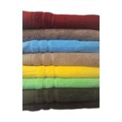 Едноцветна хавлиена кърпа МИКРОПАМУК - КАФЯВА от StyleZone