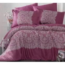 Стилно спално бельо от 100% сатениран памук - Renda V2 от StyleZone