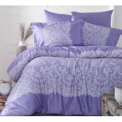 Стилно спално бельо от 100% сатениран памук - Renda V1 от StyleZone