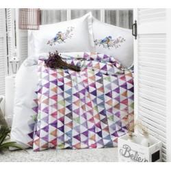 Дизайнерско спално бельо от 100% памук ранфорс - Parveen V1 от StyleZone