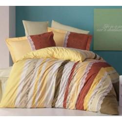 Стилно спално бельо от 100% памук ранфорс - Poem V2 от StyleZone