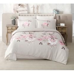 Стилно спално бельо от 100% сатениран памук - Rosemary V2 от StyleZone