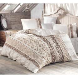 Нежно спално бельо от 100% памук - ранфорс - Sultan от StyleZone