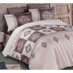 Стилно спално бельо от 100% сатениран памук - Mandela V3 от StyleZone