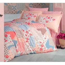 Нежно спално бельо от 100% памук - ранфорс - Mitra V1 от StyleZone