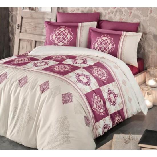 Стилно спално бельо от 100% сатениран памук - Mandela V2 от StyleZone