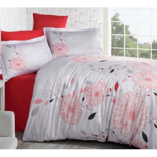 Стилно спално бельо от 100% сатениран памук - Mell V1 от StyleZone