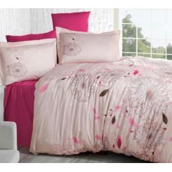 Стилно спално бельо от 100% сатениран памук - Mell V2 от StyleZone
