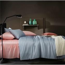 Двуцветно спално бельо от 100% памук ранфорс (светло розово/светло синьо) от StyleZone