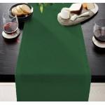 Едноцветен тишлайфер за маса - ТЪМНОЗЕЛЕН от StyleZone